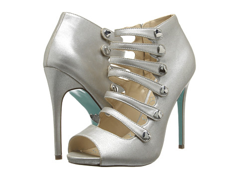 Blue by Betsey Johnson - Heart (Silver Metallic) Women