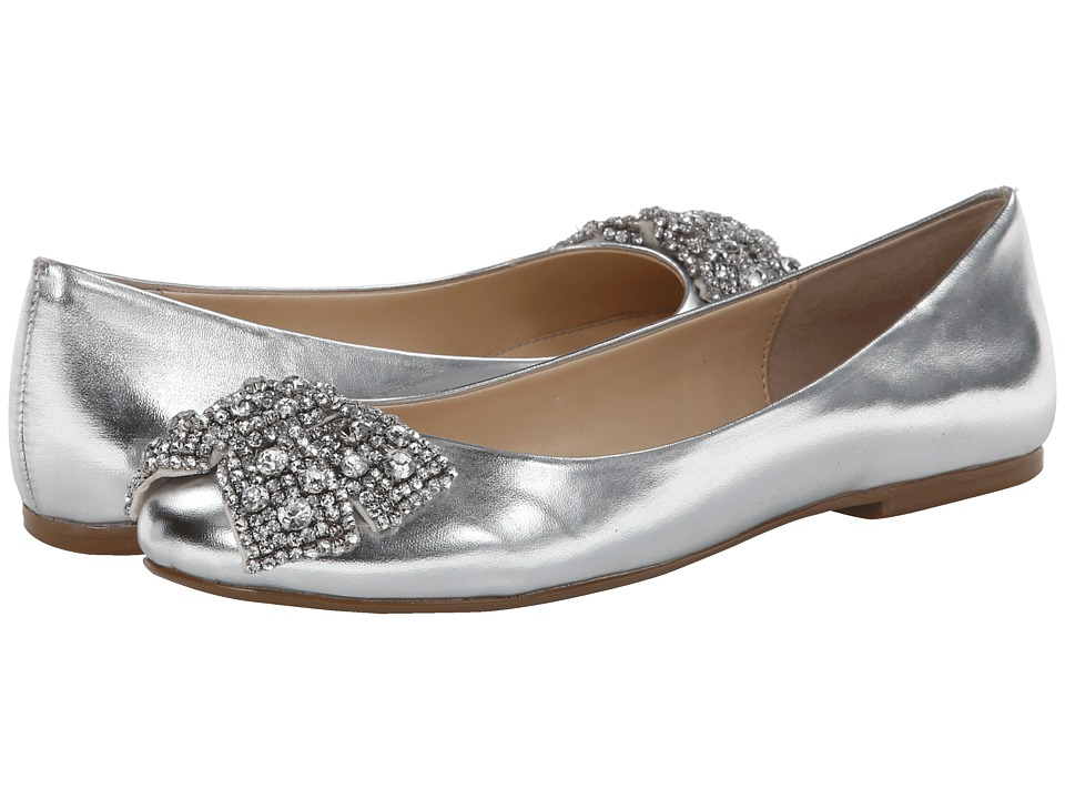 Blue by Betsey Johnson - Ever (Silver Metallic) Women's Dress Flat Shoes