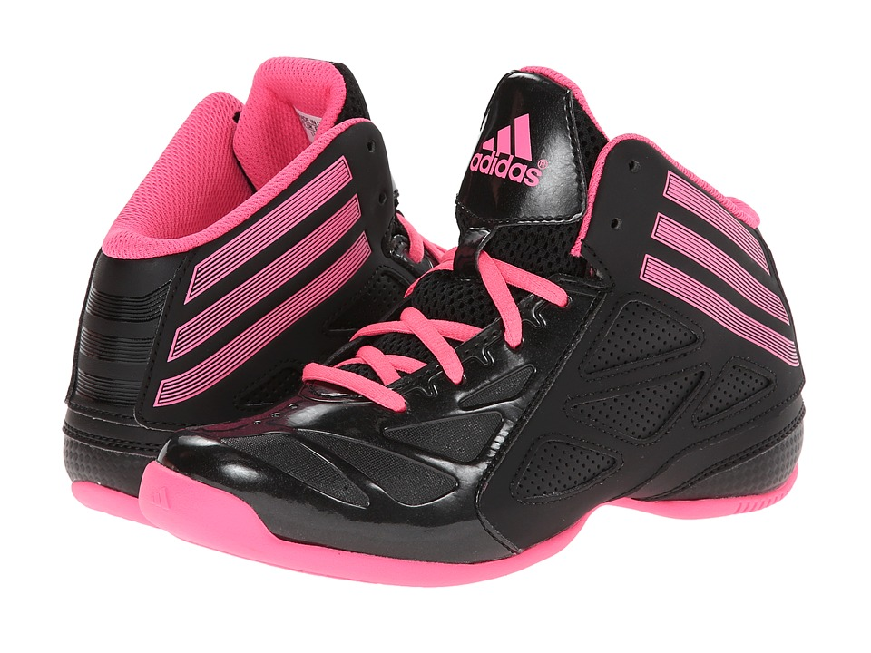 adidas Kids - Next Level Speed 2 (Little Kid/Big Kid) (Black/Solar Pink) Boys Shoes