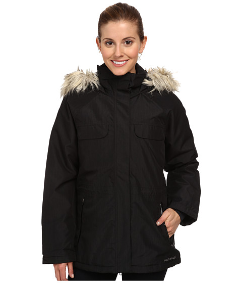 Merrell - Bandol Insulated Parka 2L (Black) Women's Coat