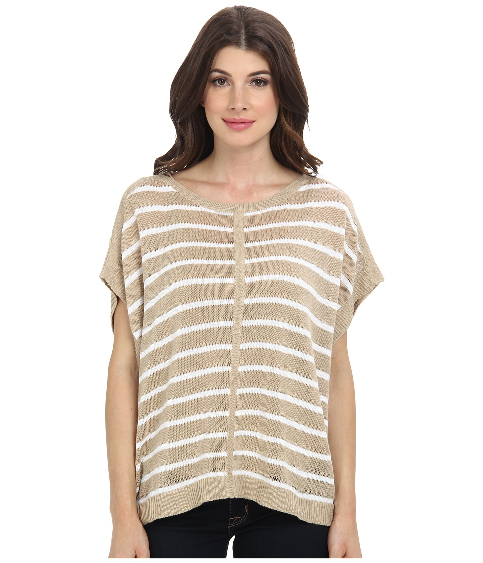 Tommy Bahama - Amaranth Stripe Pullover (Wheatberry) Women