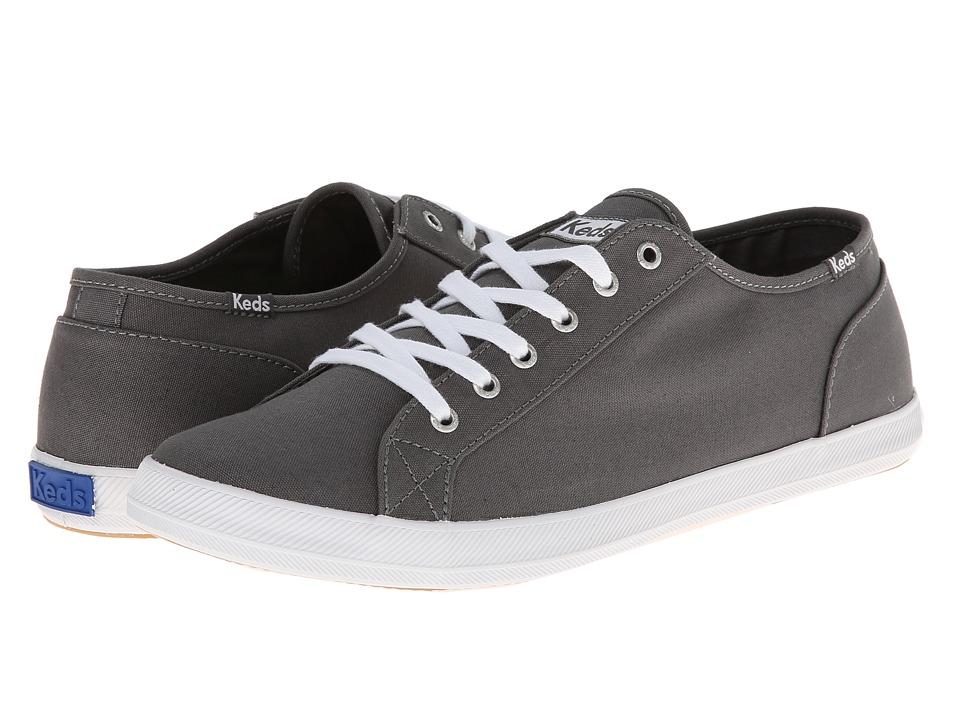 Keds - Roster LTT Canvas (Graphite) Men's Lace up casual Shoes