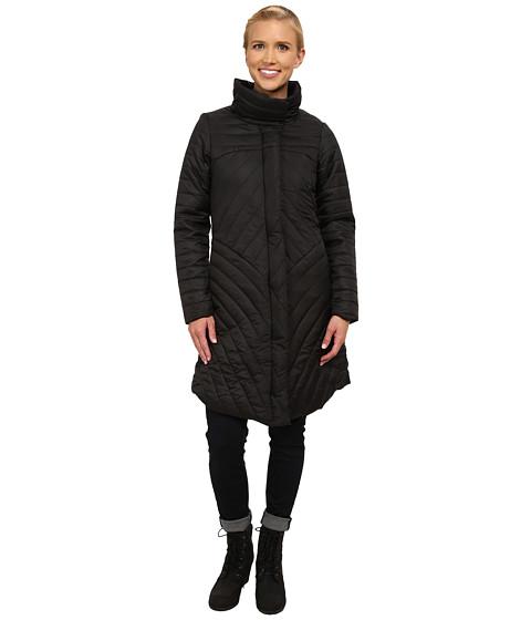 Merrell - Inertia Long Quilted Coat (Black) Women's Coat
