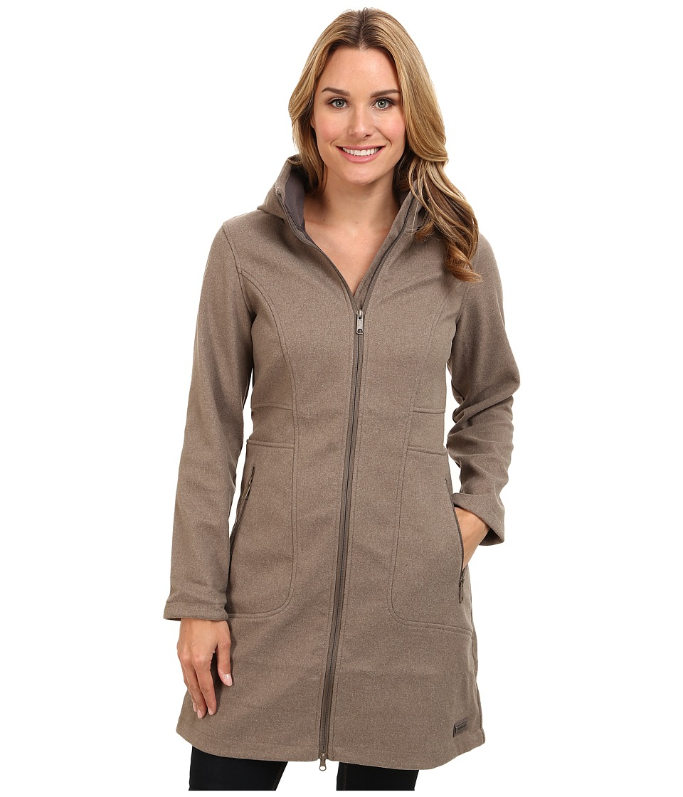 Merrell - Haven Softshell (Cappuccino Heather) Women's Coat