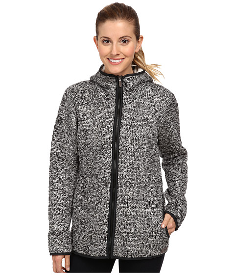 Merrell - Transition Sherpa Sweater (Black/Eggshell) Women