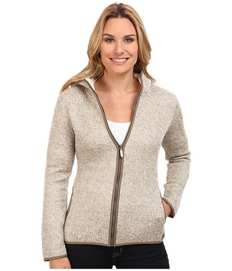 Merrell - Transition Sherpa Sweater (Cappuccino/Eggshell) Women