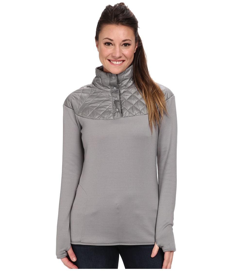 Merrell - Soleil Mixer Snap Pullover (Sidewalk) Women's Long Sleeve Pullover