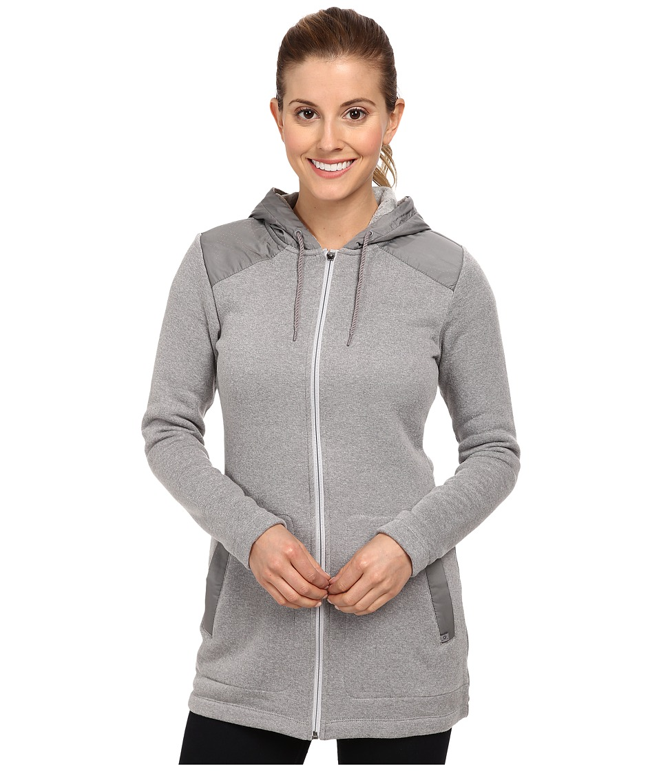 Merrell - Cava Long Fleece Mixer (Sidewalk Heather) Women's Sweatshirt