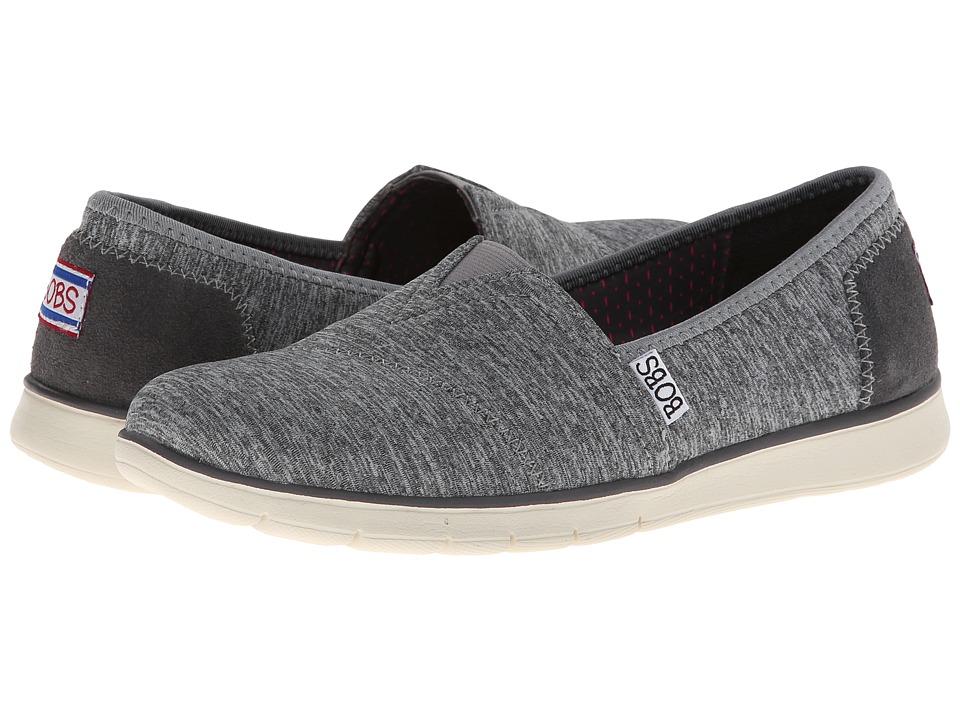 BOBS from SKECHERS - Pureflex - Heathers (Gray) Women's Flat Shoes