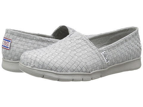 BOBS from SKECHERS - Pureflex - Gor-Gous (Gray) Women's Shoes