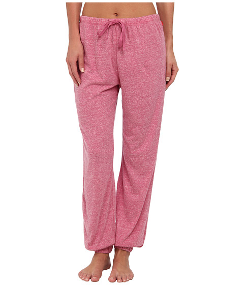 Josie - Heather Jersey Pant (Magenta) Women's Pajama