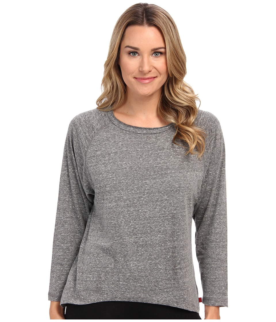 Josie - Heather Jersey Top (Charcoal Grey) Women