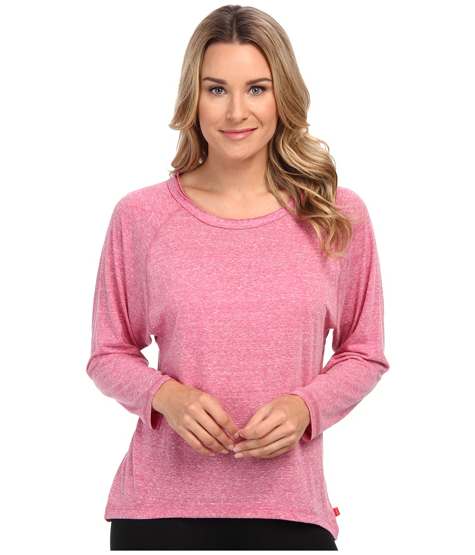 Josie - Heather Jersey Top (Magenta) Women's Pajama