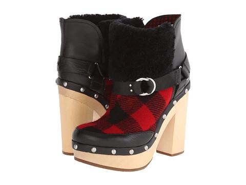 Woolrich - Artist (Metal/Red Buffalo Check) Women's Boots