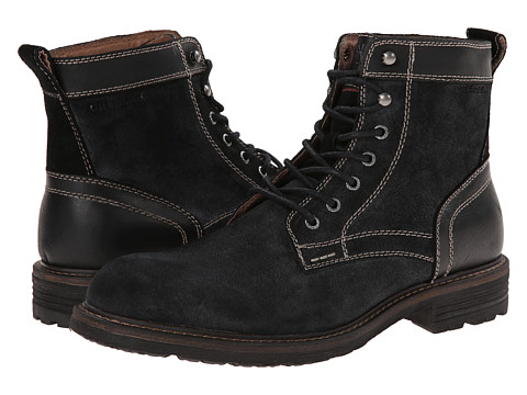 Bass - Reddington (Black/Black) Men's Boots