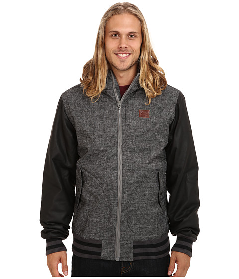 Vans - Rutherford Mountain Edition Jacket (New Charcoal/Black) Men's Coat