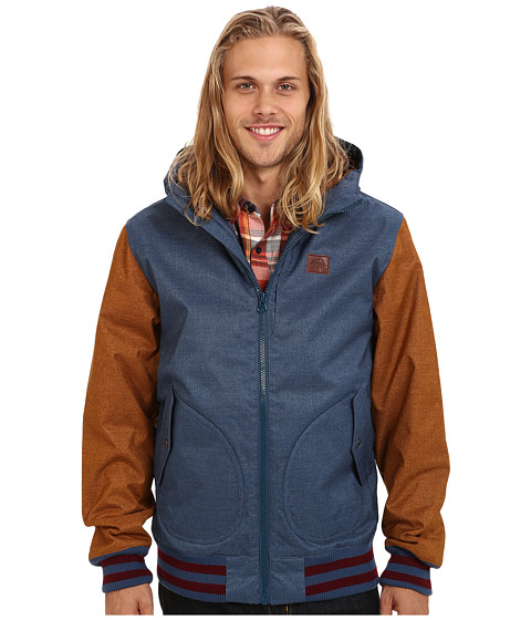 Vans - Rutherford Mountain Edition Jacket (Ensign Blue/Rubber) Men's Coat