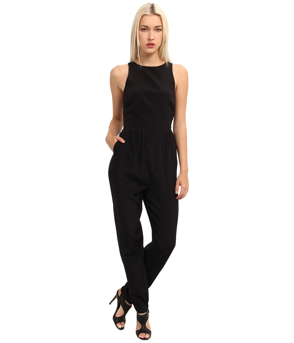 tibi - Colorblock Cdc Colorblock Cdc Jumpsuit (Black) Women's Jumpsuit & Rompers One Piece