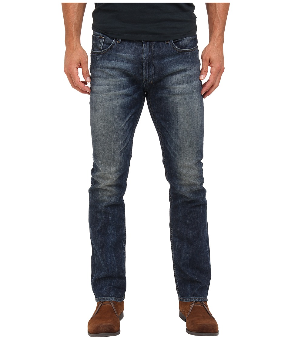 Buffalo David Bitton - Six Slim Straight Sheeba Stretch Denim in Dirty/Deeply Sanded (Dirty/Deeply Sanded) Men's Jeans