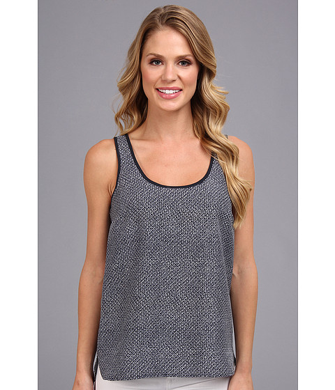 MICHAEL Michael Kors - Java Tank (Navy) Women's Sleeveless