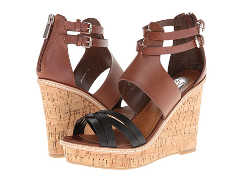 DV by Dolce Vita - Corra (Cognac Leather) Women's Wedge Shoes