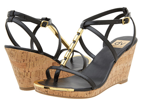 DV by Dolce Vita - Taber (Black Stella) Women's Wedge Shoes