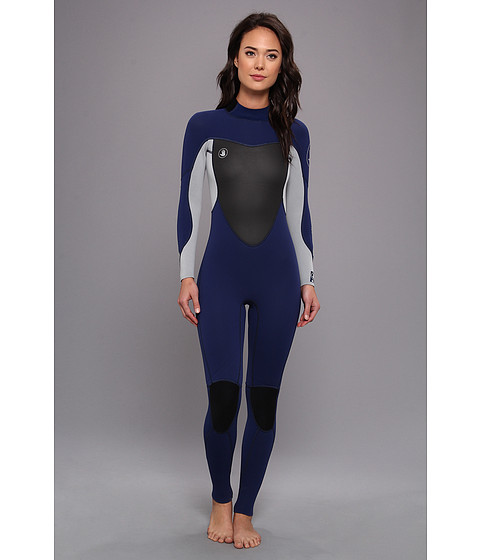 Body Glove - Method 2.0 Back Zip 3/2mm Fullsuit (Navy) Women's Wetsuits One Piece