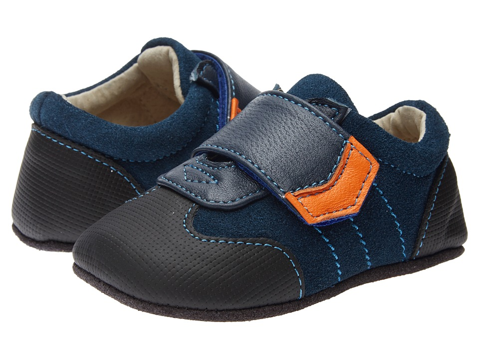 See Kai Run Kids - Pacey (Infant) (Navy) Boys Shoes