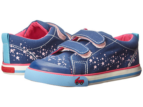See Kai Run Kids - Veronica (Infant/Toddler) (Navy) Girl's Shoes