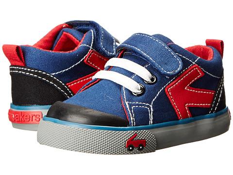 See Kai Run Kids - Vinton (Infant/Toddler) (Blue) Boys Shoes