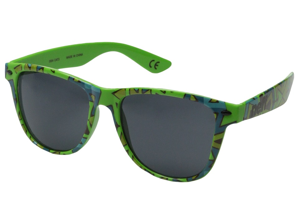 Neff - Daily Shades (Green Tribal) Sport Sunglasses