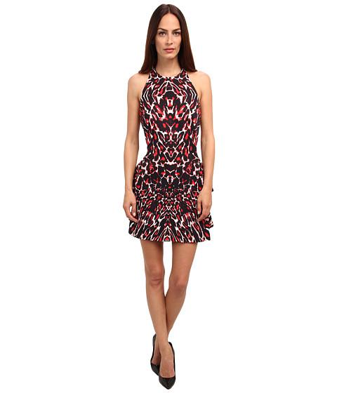McQ - Kaleidoscope Volume Dress (Leopard Pixel) Women
