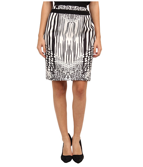 Rachel Roy - Double Waist Skirt (Black) Women