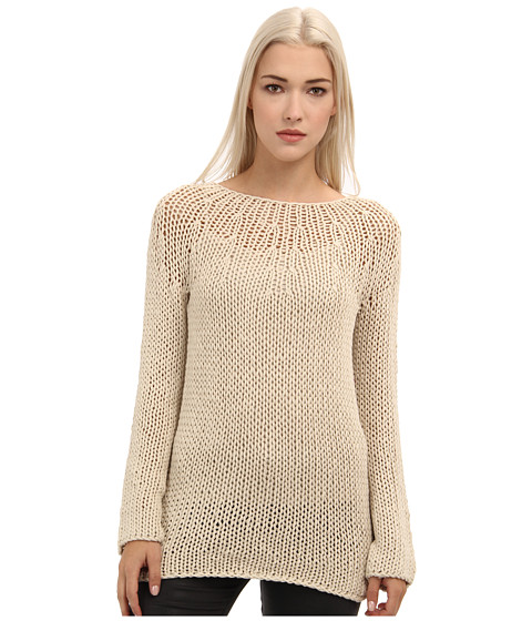 Rachel Roy - Chunky Top (Antique White) Women's Long Sleeve Pullover