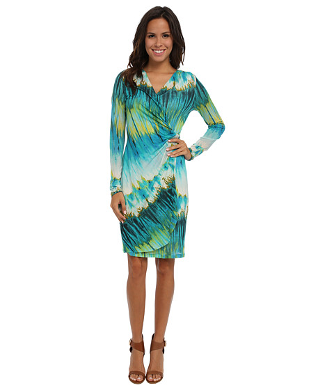 Tommy Bahama - Aqua Lagoon Dress (Palm Coast Teal) Women
