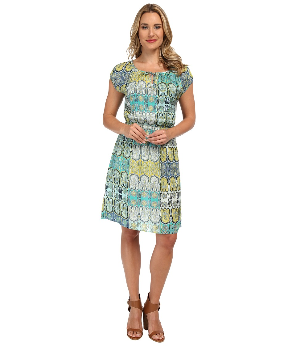 Tommy Bahama - Castello Paisley Dress (Light Caribbean Tile) Women's Dress