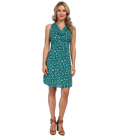 Tommy Bahama - Sea Poppy Short Halter Dress (Palm Coast Teal) Women's Dress