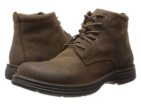 Born - Axe II (Ironstone (Grey) Nubuck) Men's Lace-up Boots