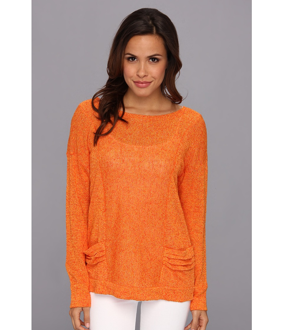 Christin Michaels - Shyloh Top (Satsuma) Women's Sweater
