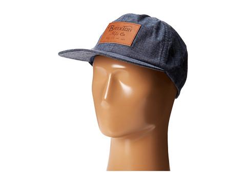 Brixton - Clark II Cap (Denim) Baseball Caps