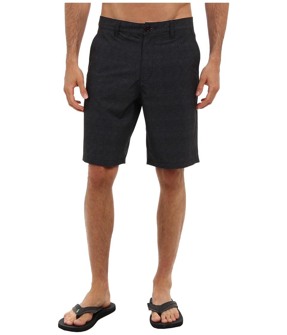 RVCA - Benefits Hybrid (Black) Men's Shorts