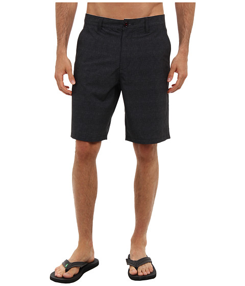 RVCA - Benefits Hybrid (Black) Men's Shorts