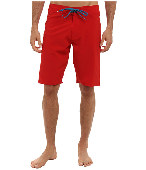 RVCA - Register Trunk (Pompei Red) Men's Swimwear