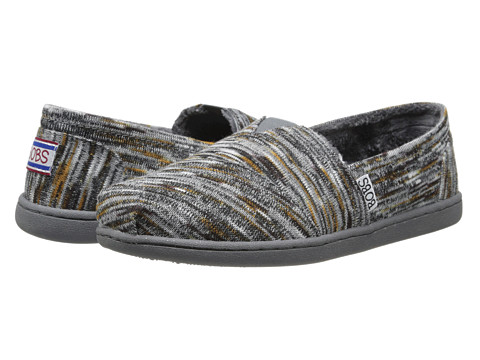 BOBS from SKECHERS - Bobs Bliss - Verona (Gray) Women's Slip on Shoes