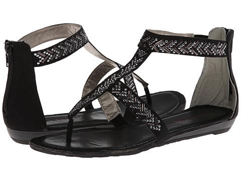 Pink & Pepper Mailer (Black) Women's Sandals