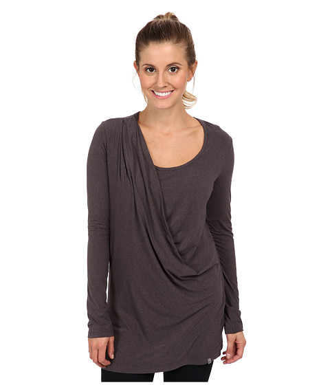 Merrell - Evoke Jersey Tunic (Shadow Heather) Women's Long Sleeve Pullover