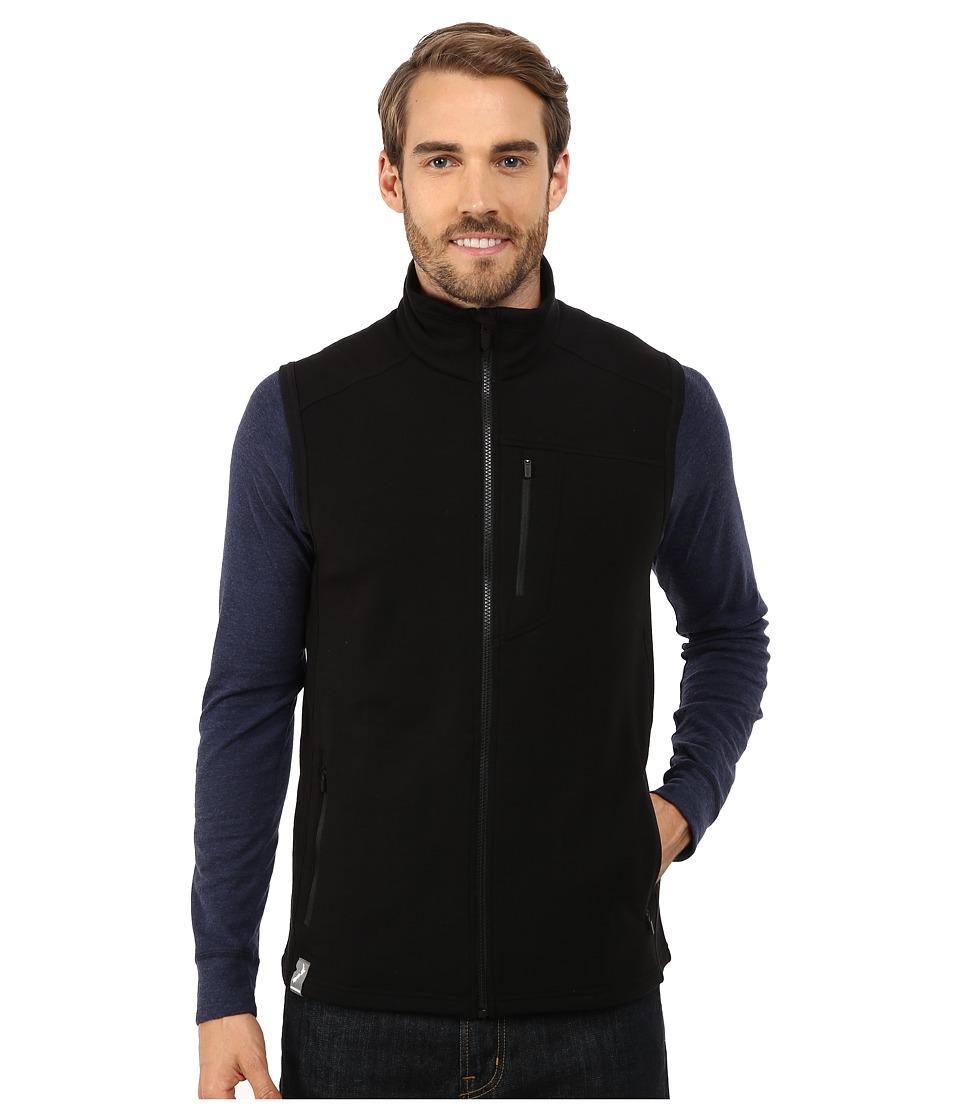 Icebreaker - Sierra Vest (Black/Black) Men's Vest