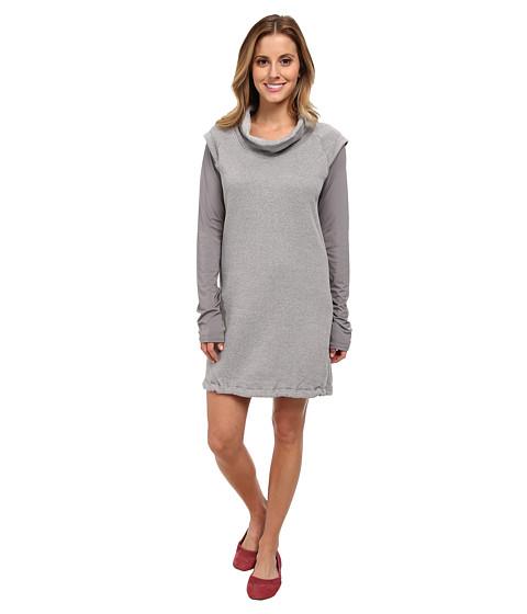 Merrell - Cava Fleece Sweatshirt Dress (Sidewalk Heather) Women's Dress