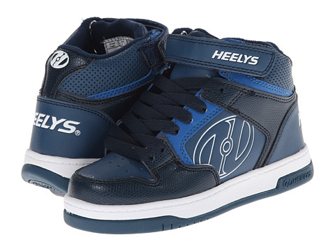 Heelys - Fly 2.0 (Little Kid/Big Kid/Men's) (Navy/Blue/White) Boys Shoes