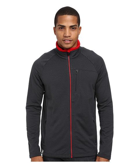Icebreaker - Sierra Long Sleeve Zip (Monsoon/Rocket) Men's Sweatshirt